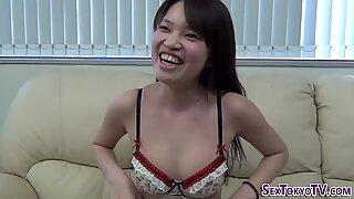 Japanese slut spreading